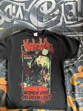 Retro Murderdolls Tee Shirt Concert Tour Punk Rock Band Black Size Med Euc