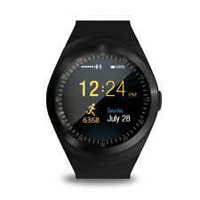 Y1 Waterproof Bluetooth Smart Wrist Watch Phone SIM Sports Fitness For Android