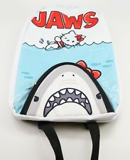 NEW Universal Studios Hello Kitty Jaws Movie Poster Canvas Backpack Loungefly