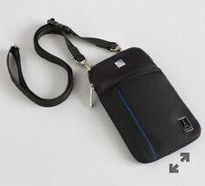 United Airlines Travelpro Iphone Smartphone Passport Case Black Holder