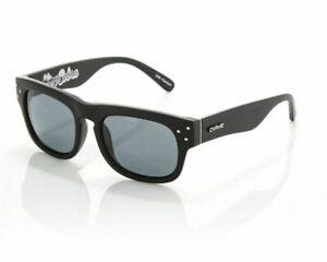 NEW Carve King Cobra Matte Black Polarized Mens Square Sunglasses