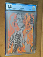 Hell Mouth #1 1st Print Frison Black & White Virgin Variant Buffy CGC 9.8 NM+/M