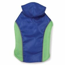 Blizzard Dog Jacket Parka Vest Coat Detachable Hood Fleece Nylon Blue Sz:XXSmall