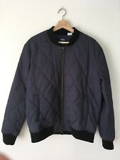 Levi's Made & Crafted Quilted Navy Bomber Jacket Size 3/Large NWT