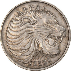 [#906845] Coin, Ethiopia, 50 Cents, 1977, Berlin, EF, Copper-Nickel Plated Steel