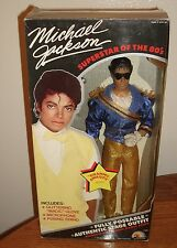 MICHAEL JACKSON GRAMMY AWARDS COLLECTIBLE DOLL IN BOX 1984
