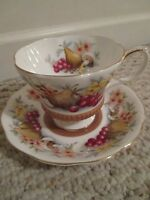 Royal Albert Country Fayre Devon Bone China teacup & saucer