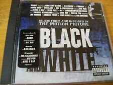 BLACK AND WHITE  O.S.T. CD XZIBIT PRODIGY MOBB DEEP EVERLAST KOOL G RAP
