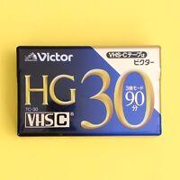 Victor HG TC-30 VHSC VHS-C Video Cassette Tape TC-30HGD *NEW*