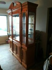 China Cabinet and Table