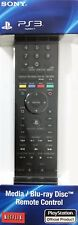 New! Genuine Sony - Media/Blu-ray Disc Remote Control for PlayStation 3 - v. 2.0