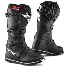 STIVALI BOOTS MOTO MX CROSS ENDURO TCX X-BLAST BLACK NERO TG 43
