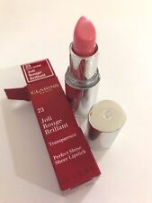 Clarins Joli Rouge Brillant Perfect Shine Sheer Lipstick in Rose Petal rrp$40