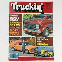 Truckin' Magazine August 1977 Vol 3 #8 Vans Glory Grilles & Build Luv Machine