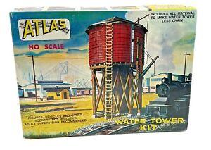 Vintage HO Scale Atlas Water Tower Kit 703