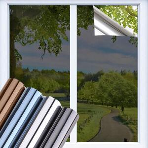 Sonnenschutzfolie Spiegelfolie Hitzeschutz Fensterfolie Tönungsfolie UV-Schutz
