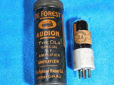 DeForest DL-4 new in the original can tube.