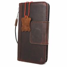 genuine real leather Case For Samsung Galaxy S8 Magnetic Credit Card Slots Davis