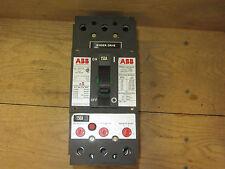Abb Uxab 717530 R 999 Breaker 150Amp 3-Pole Mag Adjust 600Vac Used Csq