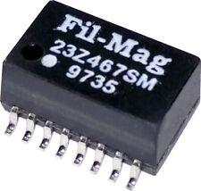Audio Transformer / Signal Transformer 1:2/1:1 2000Vrms 0.6 Ohm SMD 23Z467SM