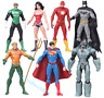 "7pcs Action Figure Toy DC Justice League 7"" Superman/Batman/Flash/Wonder woman"