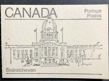 CANADA 1982 BOOKLET #82d MAPLE LEAF WITH HOOK TAG FLAW MNH