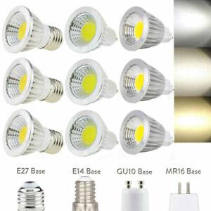 85-265V 110V 220V Dimmable MR16/GU10/E27/6W/9W/12W/LED COB-C Spot Light Bulbs