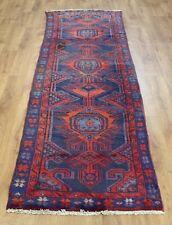 Persian Traditional Vintage Wool 284cmX82cm Oriental Rug Handmade Carpet Rugs
