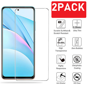 (2 Pack) Tempered Glass For Xiaomi Mi 10T Lite 5G Screen Protector Guard