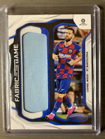 2019-20 Panini Chronicles Fabric of the Game Lionel Messi #FG-LM FC Barcelona