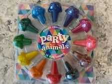 12 Fun Shapes, Party Animal, Finger Crayons, Stackable, Paint, Palm, Easy Grip