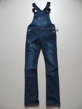 Damen Latz Jeans Hose Gr. 36 / 38, /L 34, NEU ! Vintage Latzhose Denim Overall !