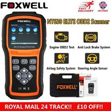 ABS Airbag SRS Reset Tool OBD2 Car Code Reader Scanner Diagnostic Foxwell NT630