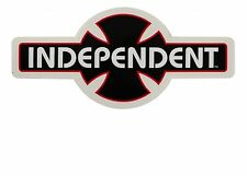 "INDEPENDENT ""OGBC"" Skateboard Snowboard Tavola da Surf Adesivo 25cm INDY NERO"
