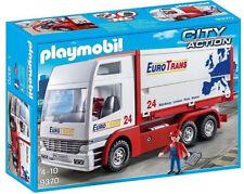 Playmobil 9370 Camión de Trans-City Acción Euro