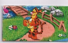 "TIGGER CHECKBOOK COVER FABRIC IN THE PARK HONEY BEE""S JAR FLOWERS POOH"