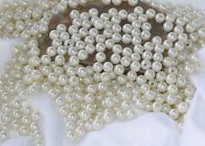 5 Perlen perlmutt weiß Hochzeit Wachsperlen 30mm große Perlen