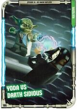 Lego Star Wars™ Series 1 Trading Cards Card 186 - Kultszene: Yoda Vs Darth
