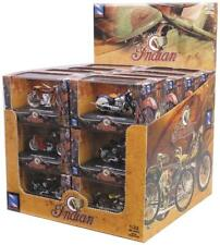 New Ray Toys 1:32 Scale INDIAN MOTORCYCLE ASSORTMENT 24 Piece w/ Display Box