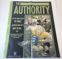 2000 DC Comics/Wildstorm promo poster ~ THE AUTHORITY ~ 17x22