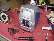 Memorex Cd Karaoke Machine with 1 Disc and Microphone Model Mks8506
