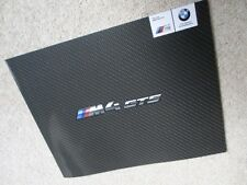 BMW M4 GTS BROCHURE PROSPEKT LIMITED EDITION NOT CSL M3 M5 M6 M1 Z8 M2
