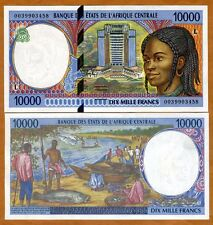 New listing Central African States, Gabon, 10000 (10,000) Francs, 2000, P-405Lf, Unc