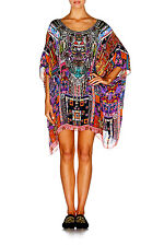 Camilla Franks Patch Me up Short Round Neck Kaftan With Tags