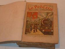 LOT album JOURNAUX ANCIEN 1934 LE PELERIN journaux n°2963-3014 journal chretien