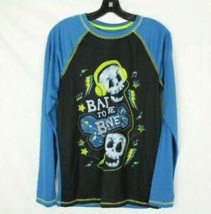 Circo Youth Sleep Shirt Bad to the Bone Blue Size XL