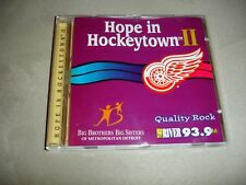 Hope In Hockeytown II Quality Rock The River 93.9 FM Big Brothers Big Sisters CD