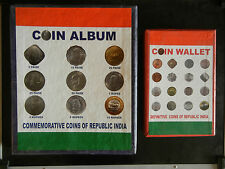 1950 TO 2015 - 193 COINS - REPUBLIC INDIA COIN COLLECTION WITH ALBUMS #1