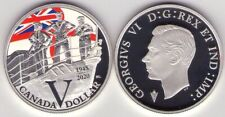 2020 Special E. Silver Dollar – 75th Anniversary of V-E Day: Royal Canadian Navy