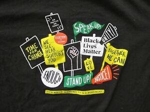 Starbucks 2020 Black Lives Matter BLM Stand Together Shirt - Size M